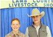Two young men at the Livestock Show