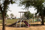 Playground equipment at Dunbar Park